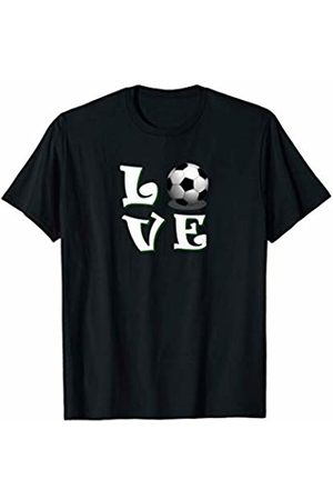 Sport love training ball Love Football for people who like the best team sport T-Shirt