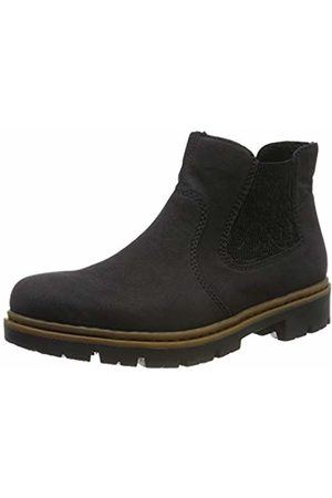 Rieker Women's 71364-00 Chelsea Boots, Schwarz 00