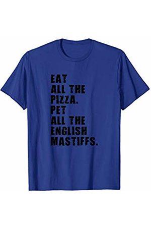 Swesly Dog Eat All The Pizza Pet All The English Mastiffs ADB075i T-Shirt