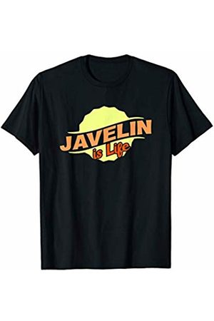 Gifts and Gear For Athletes Javelin Is Life Cool Sports Lover Athlete Competitor Gift T-Shirt