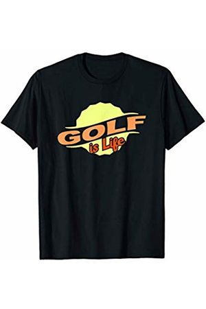 Gifts and Gear For Athletes Golf Is Life Cool Sports Lover Athlete Competitor Gift T-Shirt