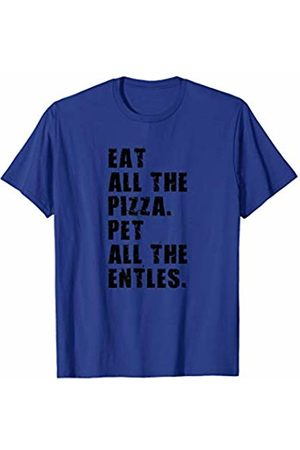 Swesly Dog Eat All The Pizza Pet All The Entles ADB046i T-Shirt