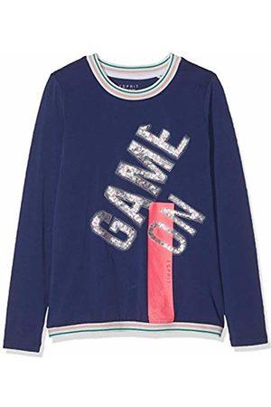 Esprit Kids Girl's Rp1009507 T-Shirt Long Sleeves Top, (Marine 446)