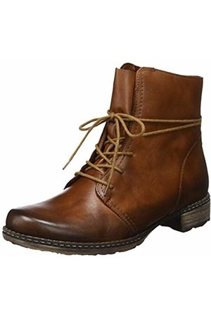 Remonte Women's D4388 Combat Boots, Chestnut/ 24