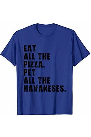 Swesly Dog Eat All The Pizza Pet All The Havaneses ADB057i T-Shirt