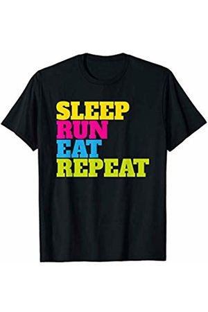 Running Runner Marathon Training Jogging Sports Must Have for Runners: Sleep, Run, Eat