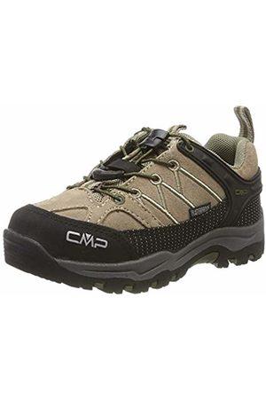CMP Unisex Kids' Rigel Low Rise Hiking Shoes, ((Desert-Torba 04pd)
