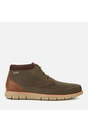 Barbour Men's Nelson Nubuck 3-Eye Chukka Boots