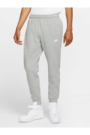 Nike Men Joggers - Nsw Plus Size Club Fleece Joggers - Grey