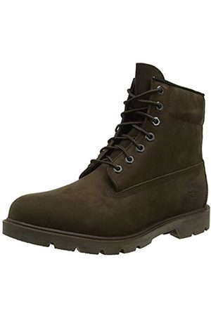 Timberland Men's 6 Inch Basic Non-Contrast Waterproof Lace-up Boots, (Dark Nubuck)