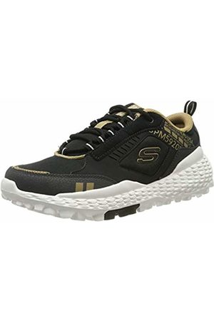 Skechers Men's Monster Trainers, ( Leather/Pu/Mesh/Trim Blk)