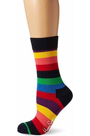 Happy Socks Women's STR01-Stripe Sock, 1-Pack