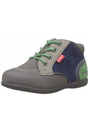 Kickers Unisex Babies' Babystan Boots, Vert Gris 122