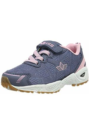 LICO Girls' Flori VS Multisport Indoor Shoes, Grau/Rosa