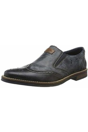 Rieker Men's 13561-14 Loafers, Ozean/Mogano 14