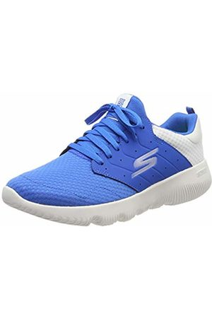 Skechers Men's GO Run Focus-Athos Trainers, ( Textile/Trim Blu)