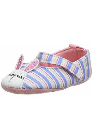Joules Baby Girls' Littleton Birth Shoes, ( Rabbit Stripe Blrbbtstp)