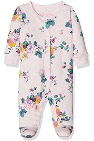 Joules Baby Girls' Razamataz Bodysuit, ( Marl Skelwith Pnkmrlskel)
