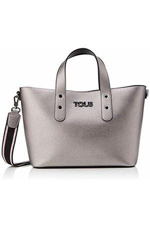 TOUS New Essence Women's Top-Handle Bag, (Gun/Negro 995900630)