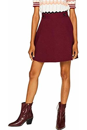 Esprit Women's 089ee1d004 Skirt, Garnet 620