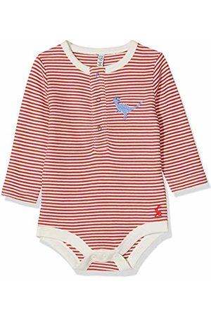 Joules Baby Boys' Snazzy Luxe Bodysuit, Stripe STP Dino
