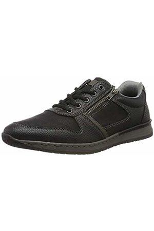 Rieker Men's B5124-00 Low-Top Sneakers, Schwarz/Graphit 00