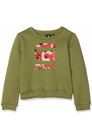 G-Star G-Star Girl's Sp15505 Sweat Sweatshirt, Khaki 56