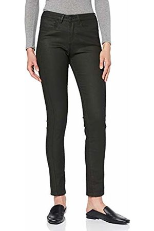 Opus Women's Emily Coated Denim Slim Jeans, Oliv 3033
