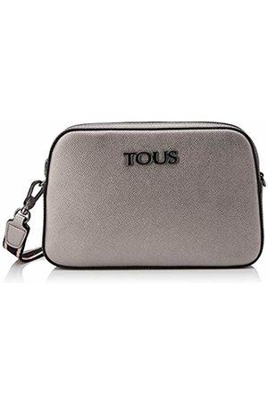 TOUS New Essence Women's Messenger Bag, (Gun/Negro 995900791)