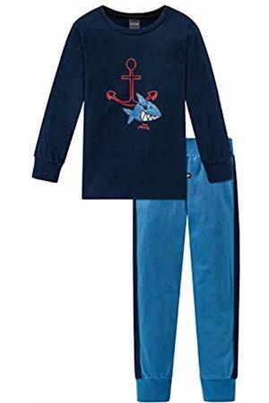 Schiesser Boys Pyjamas - Boys' Capt´n Sharky Kn Anzug Lang Pyjama Sets