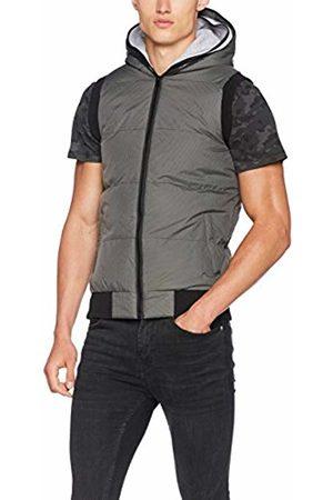 Urban classics Men's Double Hooded Vest Outdoor Gilet