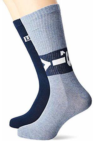 Levi's Men's 168SF Regular Cut Lazy TAB 2P Socks, 056)