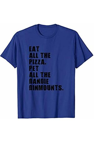 Swesly Dog Eat All The Pizza Pet All The Dandie Dinmounts ADB141i T-Shirt
