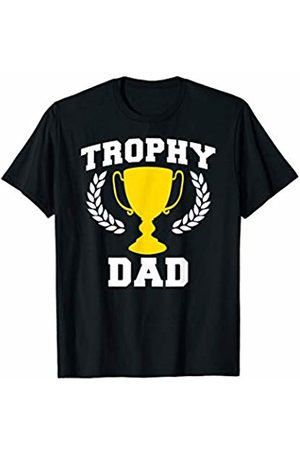 Miftees Trophy dad Funny dad Gift T-Shirt