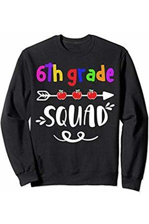 Sixth Grade Squad TShirts 6th Grade Squad Shirt - Kids / Teacher Back To School Gift Sweatshirt