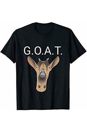 Greatest of all Time GOAT Joke Gift Goat Lovers Funny Goat Greatest Of All Time G.O.A.T. for Sports Fans T-Shirt