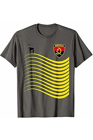 World Countries & National Sport Teams Angola Basketball Jersey Angolan Flag Gift T-Shirt