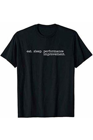 Eat Sleep Swag Eat Sleep Performance Improvement T-Shirt