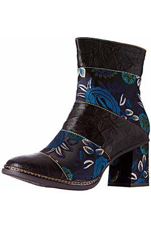 LAURA VITA Women's Elcianeo 02 Ankle Boots, Noir