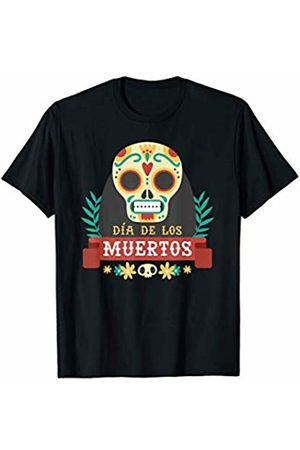 Costune Halloween Costumes Shirt Men Women Kids Mexican Sugar Skull Day of The Dead Flower Scary Creepy T-Shirt