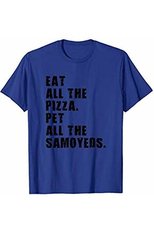 Swesly Dog Eat All The Pizza Pet All The Samoyeds ADB108i T-Shirt