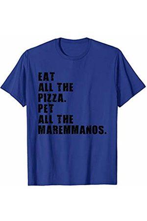 Swesly Dog Eat All The Pizza Pet All The Maremmanos ADB113i T-Shirt