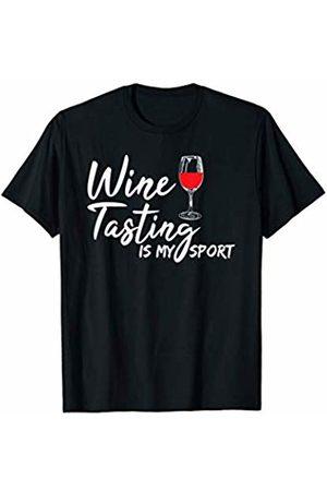 Wine Lover Gift Wine Tasting Is My Favorite Sport Drinking T-Shirt