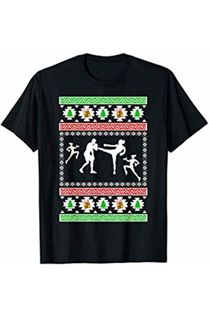 Fitness Competition christmas gift by BAR Fitness Competition ugly christmas gift T-Shirt