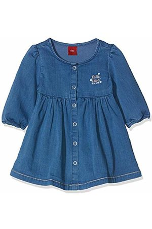 s.Oliver Baby Girls' 65.908.82.2988 Dress, Denim 55z7