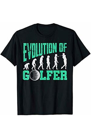 Funny Golfer Apparel For Golf Enthusiasts & Fans Humorous Golf Evolution for Golf Lovers & Golf Players T-Shirt