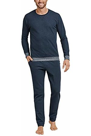 Schiesser Men's Sleep + Lounge Schlafanzug Lang Pyjama Sets
