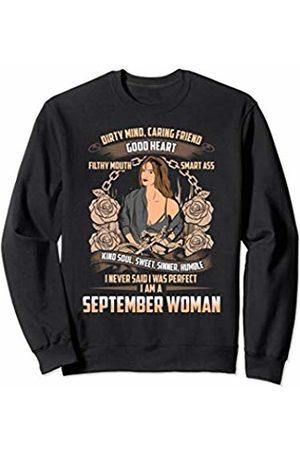 NYC Motorcycle Gifts For Men & Women September Birthday Biker Chick Lady Dirty Sweet Sinner Sweatshirt