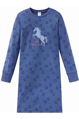 Schiesser Girls' Pferdewelt Nachthemd 1/1 Nightie