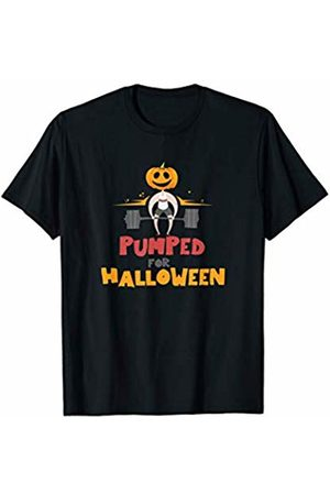 Cool Sport Enthusiasts & Lifters - Gym Apparel Pumped For Halloween Gift for Bodybuilders & Fitness Lovers T-Shirt